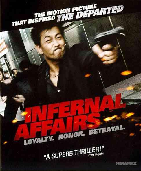 INFERNAL AFFAIRS BY LAU,ANDY (Blu-Ray)